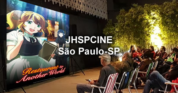"JHSPCINE Festival de Filmes ""Restaurant from Another World (Isekai Shokudou)"" 20/12/19 - Japan House - São Paulo-SP"