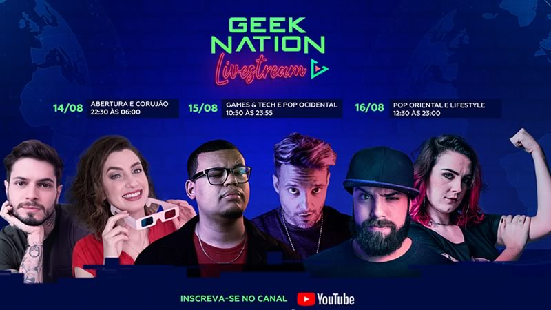 Geek Nation Livestream 2021 - Online